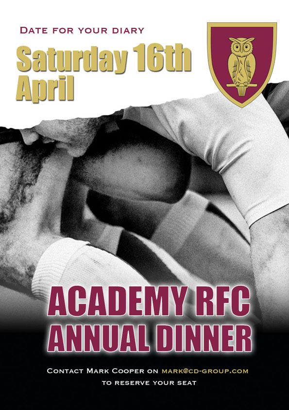 Academy Rugby Dinner